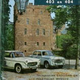 Peugeot 403 / 404 Instructieboek